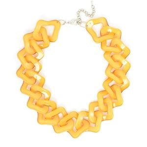 Flat Out Fabulous Link Necklace